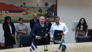 CAF y Cuba firman acuerdo para establecer agenda conjunta de trabajo