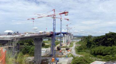 Las obras del tercer puente sobre el Canal de Panamá, a más del 52% de avance
