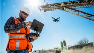 Los drones sobrevuelan en el mundo de la construcción