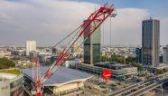 [VIDEO] Construyen la torre más alta de Europa Occidental
