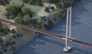 Puente Chacao en el fin del mundo
