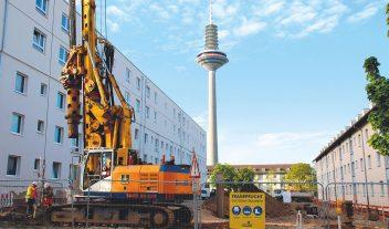 Renuevan un área residencial de Frankfurt