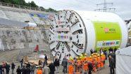Un trabajo de tunelación en Alemania