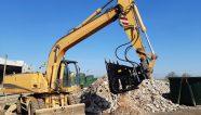 Implementos hidráulicos para máquinas de movimiento de tierras